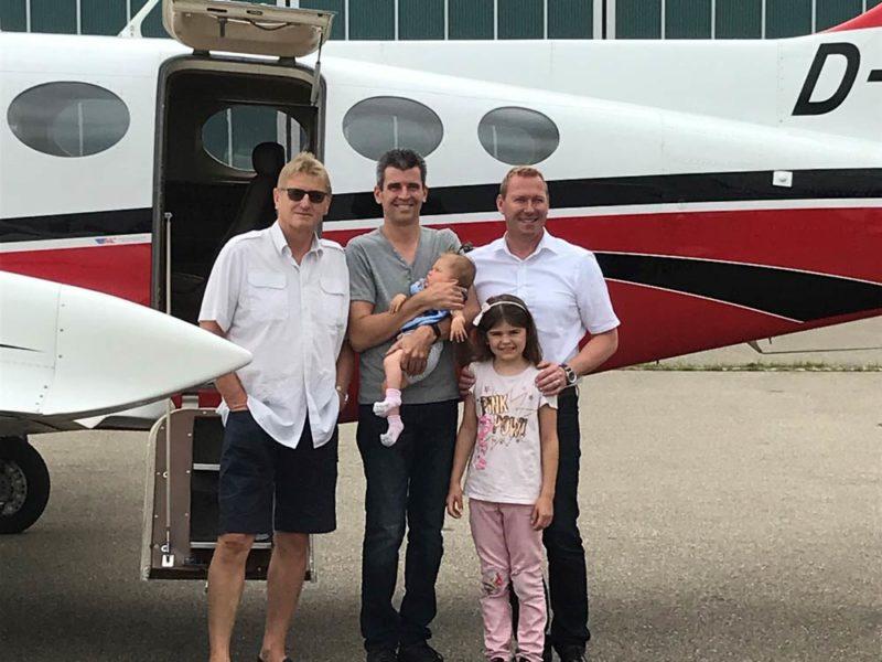 Wir ermöglichen Flüge für schwerkranke Kinder
