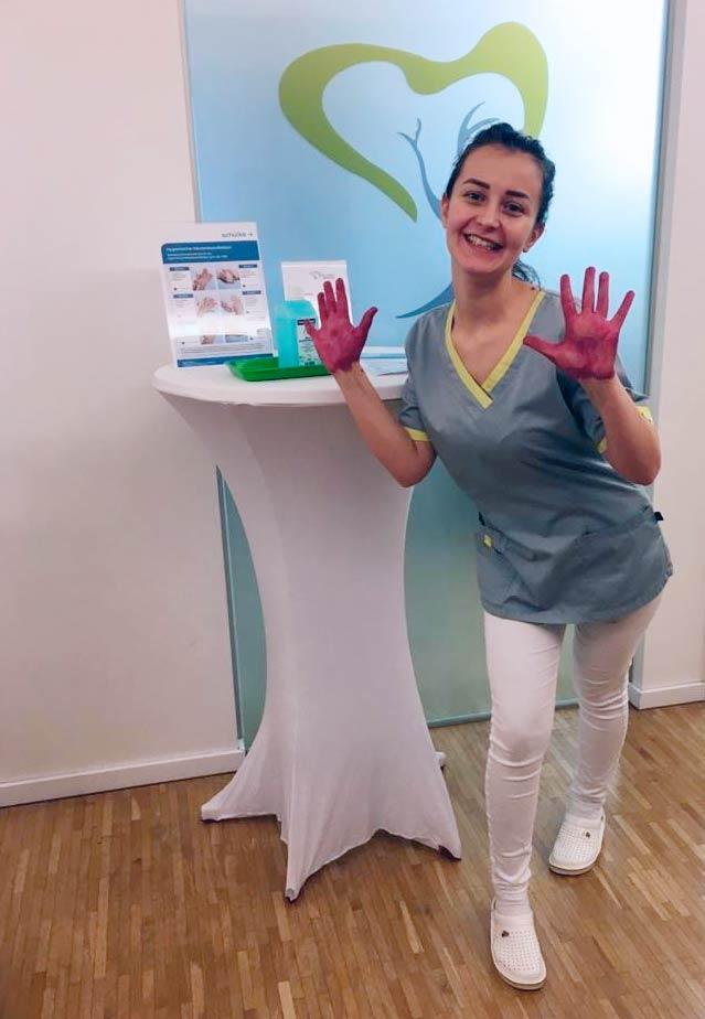 Ist Ihre Händehygiene effizient ?